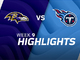 Watch: Ravens vs. Titans highlights | Week 9