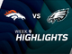 Watch: Broncos vs. Eagles highlights | Week 9