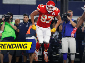 Watch: Travis Kelce's potato sack race is an epic touchdown celebration