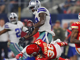 Dez Bryant sustains apparent ankle injury on incompletion