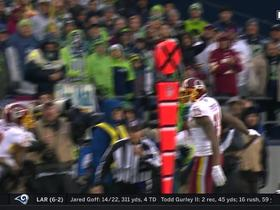 Josh Doctson pulls in catch that was intended for different receiver