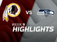 Watch: Redskins vs. Seahawks highlights | Week 9