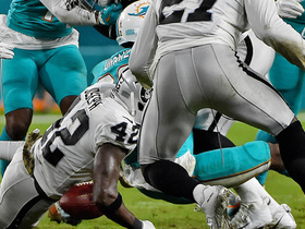 Bruce Irvin forces a Kenyan Drake fumble and Raiders capitalize