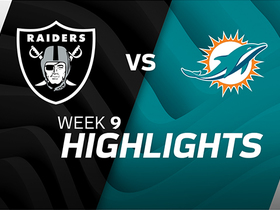 Raiders vs. Dolphins highlights | Week 9
