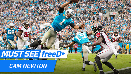 Cam's Leaping TD in FreeD