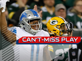 Can't-Miss Play: Jones lays out for TD, celebrates with Rock 'Em Sock 'Em