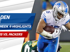 Golden Tate highlights | Week 9