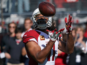 How is Larry Fitzgerald still beating defenses?