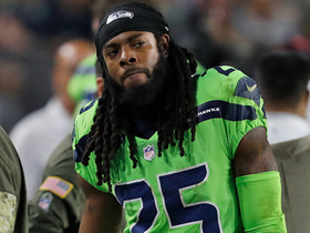 Richard Sherman leaves game with apparent lower body injury