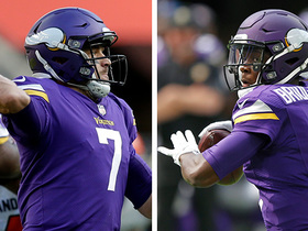 Is Case Keenum playing for his job vs. Redskins Sunday?