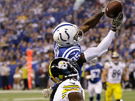 Watch: Pierre Desir reads deep ball, intercepts Ben Roethlisberger