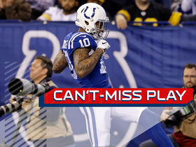 Watch: Can't-Miss Play: Brissett uncorks 60-yard bomb to wide open Moncrief for TD