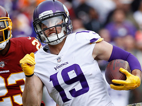 Thielen races past Redskins' secondary for 38 yards
