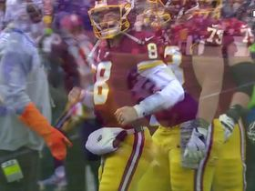 Cousins throws over his receiver and Alexander intercepts the pass