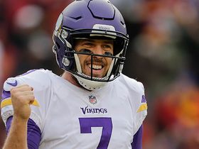 Watch: Keenum launches BEAUTIFUL deep ball to Thielen for 49 yards