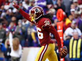 D.J. Swearinger goes way upstairs for leaping interception