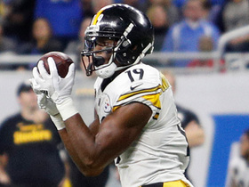 JuJu Smith-Schuster nabs 20 yards on crucial first down