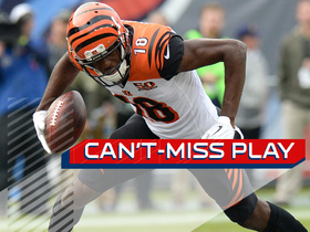 Watch: Can't-Miss Play: A.J. Green explodes past everyone for 70-yard TD