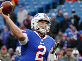 Nathan Peterman throws his first NFL TD to Nick O'Leary