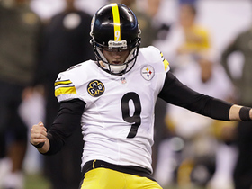 Chris Boswell's 33-yard FG wins it for the Steelers