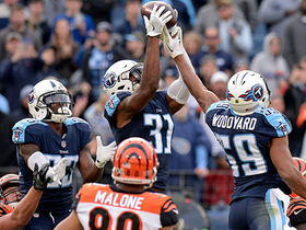 Andy Dalton's Hail Mary attempt falls short, Titans seal victory