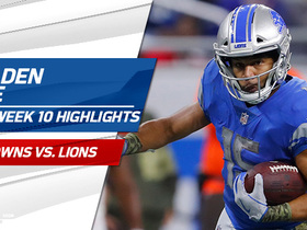 Golden Tate highlights | Week 10