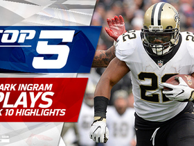 Mark Ingram's Top 5 Plays | Week 10