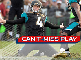 Can't-Miss Play: Lambo's tipped FG still gets through, wins game for Jags