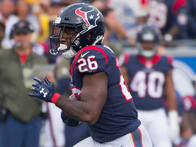 Watch: Lamar Miller skates through Rams' defenders, picks up 21 yards