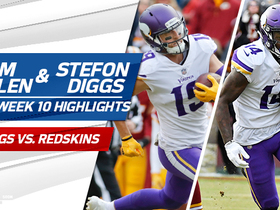 Adam Thielen and Stefon Diggs highlights | Week 10