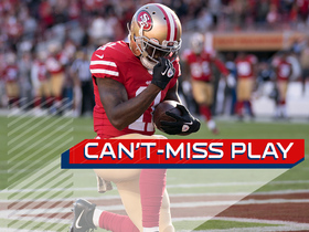 Watch: Can't-Miss Play: Marquise Goodwin honors his son after 83-yard TD catch