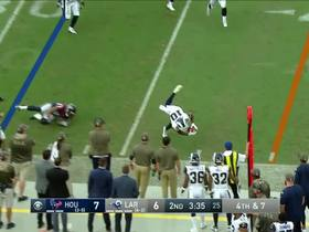 Watch: Rams' fake punt goes awry, comes up short of first down