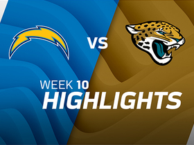 Chargers vs. Jaguars highlights | Week 10