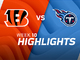 Watch: Bengals vs. Titans highlights | Week 10