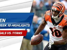 A.J. Green highlights | Week 10