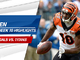Watch: A.J. Green highlights | Week 10