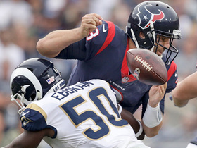 Samson Ebukam strip-sacks Tom Savage, Rams recover