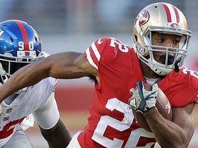 Watch: Matt Breida slices through Giants' defense for 33-yard TD
