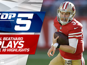 C.J. Beathard's Top 5 Plays | Week 10