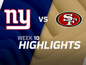 Giants vs. 49ers highlights | Week 10