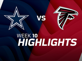 Cowboys vs. Falcons highlights | Week 10