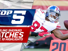 Sterling Shepard Top 5 Catches | Week 10