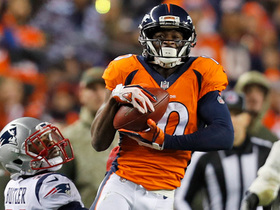 Watch: Emmanuel Sanders presses turbo on 38-yard catch and run