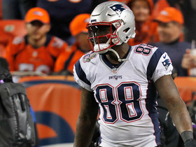 Martellus Bennett's first catch since returning to Pats goes for BIG gain