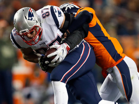 Brady throws to Gronk for 22-yard gain