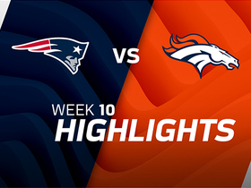Patriots vs. Broncos highlights | Week 10