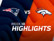 Watch: Patriots vs. Broncos highlights | Week 10