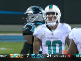 Cutler slings pass to Kenny Stills for 17-yard gain