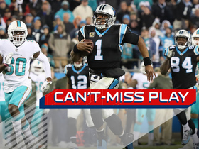 Watch: Can't-Miss Play: Cam takes off for his longest rush since 2012