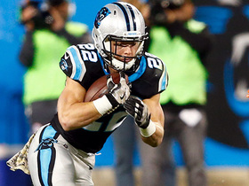Christian McCaffrey breaks free for 16-yard run